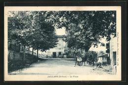 CPA Jaillans, La Place, Zentraler Platz - Unclassified