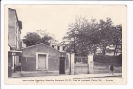 Lot 6 Cp De L''Association Maurice Maignen - 29/31 Rue De Lourmel, Paris 15è Voir Scans) - Arrondissement: 15
