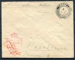 1945 GB Czechoslovak Fieldpost Feldpost C.S.P.P. Censor Cover - 1902-1951 (Rois)