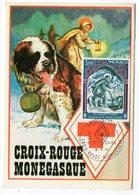 Carte Maximum Monaco 1974 - Croix Rouge Monégasque YT 956 - - Maximum Cards
