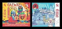 Ireland 2020 Mih. 2345/46 Galway And Rijeka - 2020 European Capitals Of Culture (joint Issue Ireland-Croatia) MNH ** - Nuovi