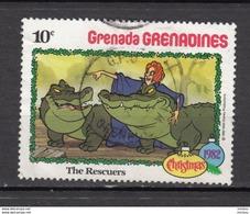 ##10, Grenada, Grenadines, Disney, Cinéma, Crocodile, The Rescuers, Reptile - Grenade (1974-...)