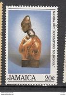 ##10, Jamaique, Jamaica, Madone, Madonna, Sculpture - Jamaique (1962-...)