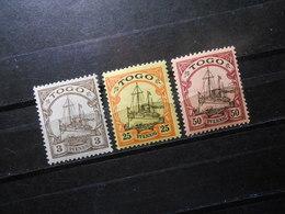 D.R.Mi 7/11/14**MNH - Deutsche Kolonien ( TOGO ) 1900/1919  Mi 13,50 € - Colony: Togo
