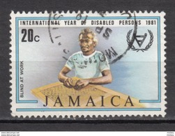 ##10, Jamaique, Jamaica, Aveugle, Blind, Handicaps, Handicapé, Handicapped - Jamaique (1962-...)