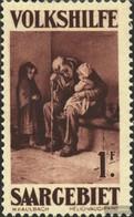 Saar Mi.-number.: 137 With Hinge 1929 Volkshilfe - Ungebraucht