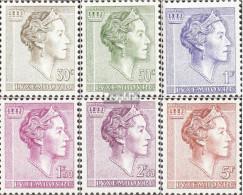Luxemburg Mi.-Nr.: 623-628 (kompl.Ausg.) Postfrisch 1960 Grossh. Charlotte - Luxemburg