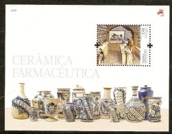 Portugal ** & PHARMACEUTICAL CERAMICS CÉRAMIQUE PHAMACEUTIQUE  2008 (nº385) - Blocks & Sheetlets
