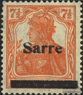 Saar Mi.-number.: 5a III With Hinge 1920 Germania - Unused Stamps