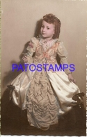 130040 REAL PHOTO COSTUMES DESGUISE CARNIVAL OLD LADY PHOTO NO POSTAL POSTCARD - Photographs