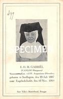 E.D.M. Gebriël - Vanloo Margareta - Snellegem - Jabbeke