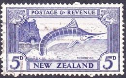 NEW ZEALAND 19425dUltramarineSG584cUsed - Officials