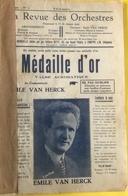 (137) Partituur - Partition - Médaille D'Or - Valsse Acrobatique - Emile Van Herck - La Valse Est Reine - Partitions Musicales Anciennes