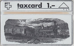 SUISSE - PHONE CARD - TAXCARD-PRIVÉE  *** TRAIN - ZUG / 1 *** - Suiza