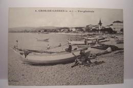 CROS-DE-CAGNES - LA COTE D'AZUR A LA BELLE EPOQUE  -  REEDITION    - ( Pas De Reflet Sur L'original ) - Autres Communes