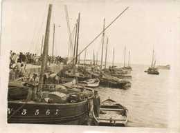 Carte Photo Port Et Bateaux De Peche  RV - Fotografie