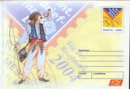 Romania - Stationery Cover Unused 2004(149) - International Stamps Stock Exchange Sindelfingen - Stamp Day - Filatelia & Monete