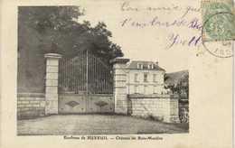 Environs De BUXEUIL  Chateau De Bois Moulins RV - Francia