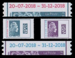 """Variété """"Marianne IZ L'Engagée"""" DATAMATRIX Surchargé 2013-2018 - EUROPE + MONDE N** - 2018-... Marianne L'Engagée"""