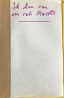 (148) Partituur - Partition - Ik Houd Van Een Valse Musette - Partitions Musicales Anciennes