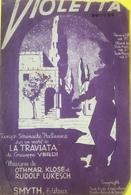 (149) Partituur - Partition - Violetta - Tango Serenade - Partitions Musicales Anciennes