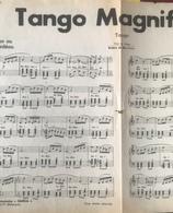 (150) Partituur - Partition - Tango Magnifique - Boléro De Rio - Partitions Musicales Anciennes