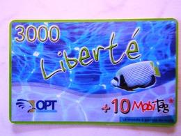 NOUVELLE CALEDONIE   OPT        LIBERTE  3000 - Nouvelle-Calédonie