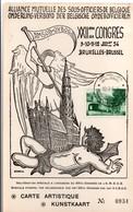 Mutuelle Des Sous-officiers De Belgique - Bruxelles 1954 - Armée Belge - Archange Saint-Michel Ou Gabriel - Covers & Documents