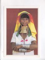 CPM BURMA , GRATTE WOMAN - Cartes Postales