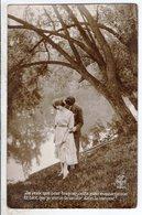 Cpa Fantaisie Couple - Je Veux Que Pour Toujours - Couples