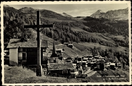 Cp Chandolin Anniviers Kanton Wallis, Bella Tola, Panorama - VS Wallis