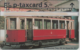 SUISSE - PHONE CARD - TAXCARD-PRIVÉE * RR*RARE *** TRAIN - ZUG & TRAM / 3 *** - Suiza