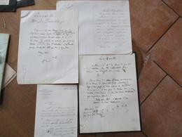 COMPAGNIE LET. R.P. DES CHEMINS DE FER DU SUD DE L'AUTRICHE DE LA LOMBARDIE ET DE L'ITALIE CENTRALE PARIS LE 18/04/1868 - Manuscrits