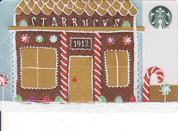 South Africa Starbucks Mint Card, 1912 - Cartes Cadeaux