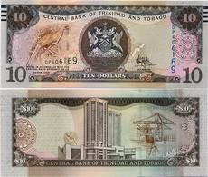 TRINIDAD & TOBAGO       10 Dollars       P-57[b]        2006 (2017)       UNC  [ Sign. Hilaire ] - Trinidad En Tobago