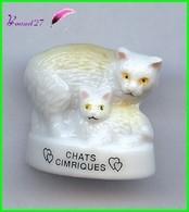 """Feve Les Races De Chat Cat Edition Atlas """" Les Chat Cimrique #A8 - Animali"""