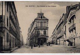 Nantes Rue Gresset Et Rue Voltaire - Nantes