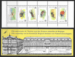 België/Belgique 1996 - B27x - Postfris - Natuur. Insecten - Neuf - Nature. Insectes. - Booklets 1953-....