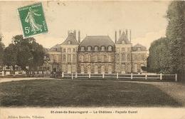Saint Jean De Beauregard Le Château Façade Ouest ( Essonne ) - Francia