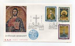 Vaticano - 1974 - Busta FDC 3 Stelle  - Anno Santo - Con Annulli - (FDC20167) - FDC