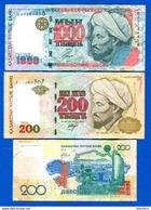 Kazakhstan  3  Billets - Kazakhstan