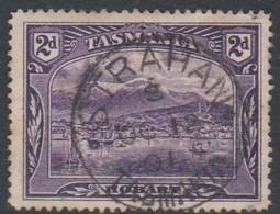 Australia-Tasmania SG 231 1899-00 Two Pence Deep Violet,perf 14,used - 1853-1912 Tasmania