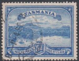 Australia-Tasmania SG 235 1899-00 5d Bright Blue,used - 1853-1912 Tasmania