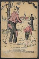 FRANCE   -   1919  -   Carte Humoristique.   Gauloiseries  Françaises. - Humour