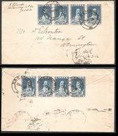 Greece 1930 Calandri Halandri Χαλάνδρι Attiki Cover To USA - Lettres & Documents