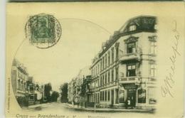 AK GERMANY - GRUSS AUS BRANDENBURG A. H. - - EDIT J. FRIEDLANDER -  MAILED BY G. BIELEFELD  1902 (7760) - Brandenburg