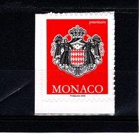 MONACO--TVP Rouge LP --Philaposte 2020-- Autocollant Issu De Carnet - Monaco