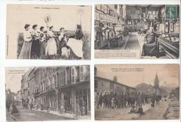 54 MEURTHE ET MOSELLE ALSACE LORRAINE  Lot De 20 Cartes Animations - Cartes Postales