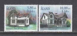 Aland 2000 - Architecture, Mi-Nr. 179/80, MNH** - Aland