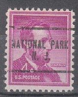 USA Precancel Vorausentwertung Preo, Locals New Jersey, National Park 704 - Vereinigte Staaten